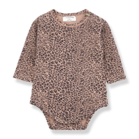1 + in the family romper leopard tilburg leopard rose