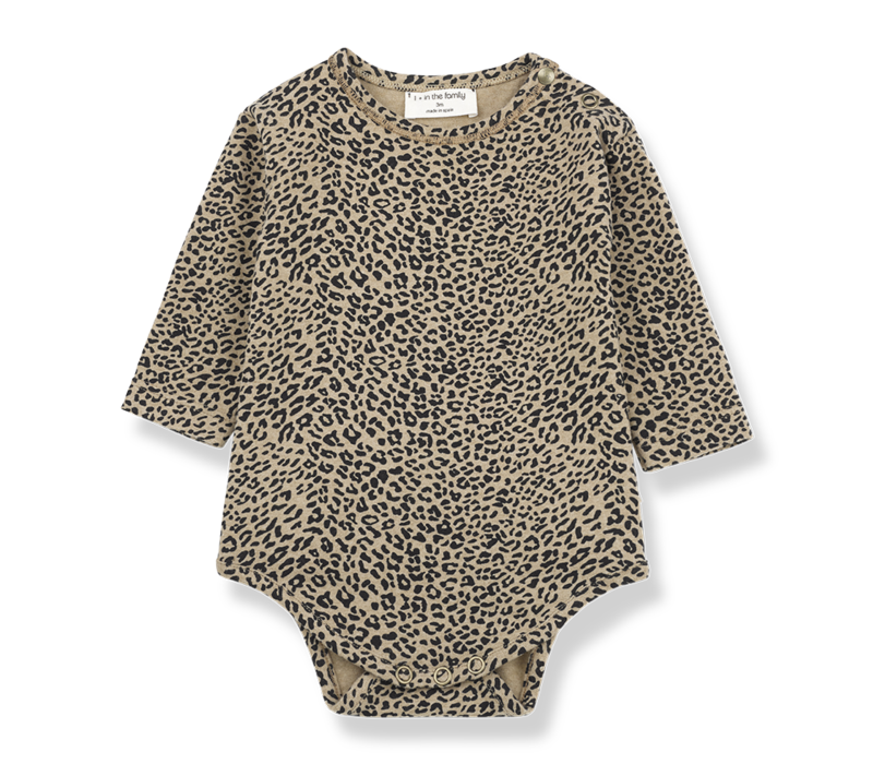 1 + in the family romper leopard tilburg leopard