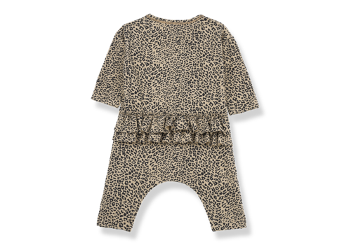 1 + in the family 1 + in the family  jumpsuit leiden leopard