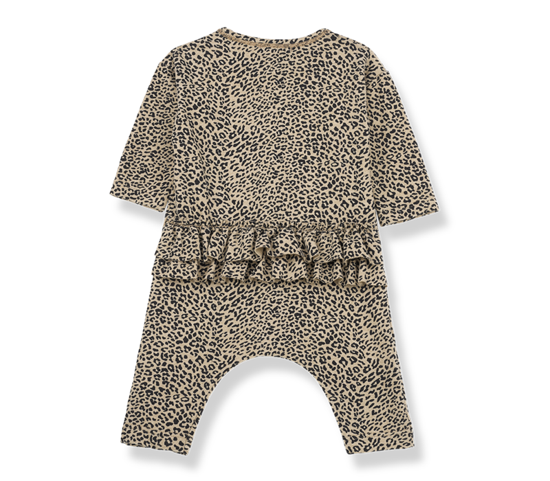 1 + in the family  jumpsuit leiden leopard