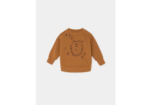 Bobo Choses Bobo Choses sweatshirt ursa major sudan brown