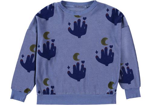 Fresh Dinosaurs Fresh dinosaurs sweater alaskan blue