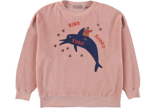 Fresh Dinosaurs Fresh dinosaurs sweater peach nougat