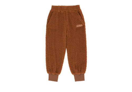 Tiny Cottons Tiny Cottons jogger citizen of luckywood brown-cream