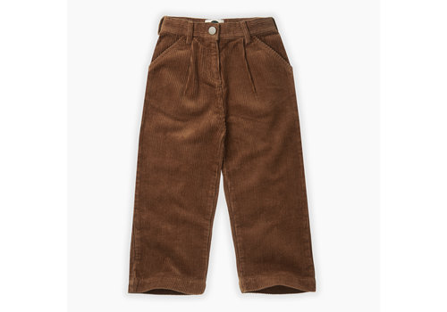 Sproet & Sprout Sproet & Sprout corduroy flair pants mocha