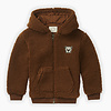 Sproet & Sprout Sproet & Sprout hoodie vest terry mocha