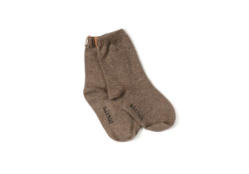 Nixnut Nixnut sokken bruin
