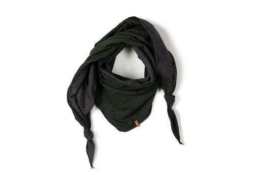 Nixnut Nixnut sjaal driehoek deep moss