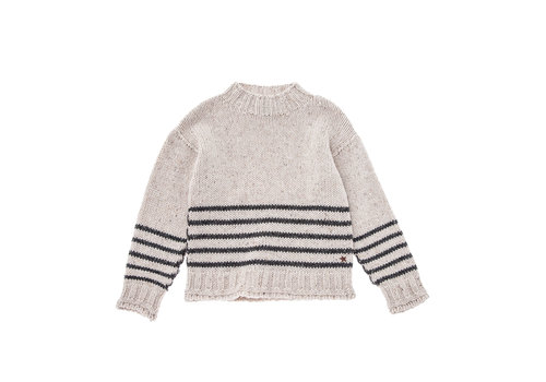 Tocoto vintage Tocoto vintage knit sweater streep