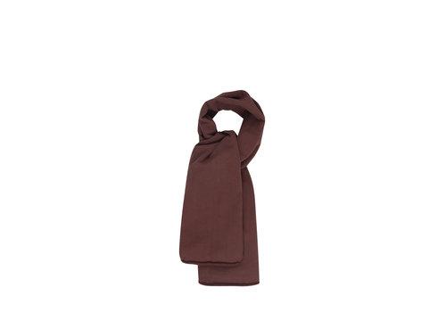 Mingo Mingo XL sjaal bitter chocolate