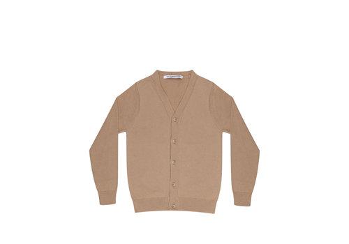 Mingo Mingo knit vest beige