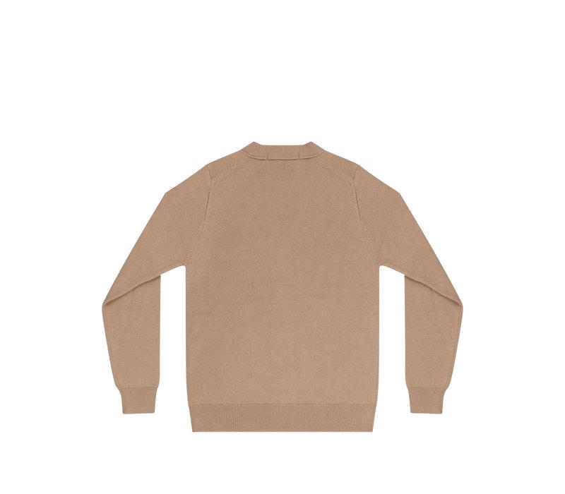 Mingo knit vest beige