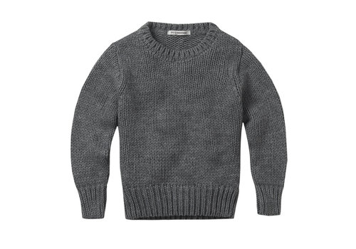 Mingo Mingo MAMA knit sweater grey