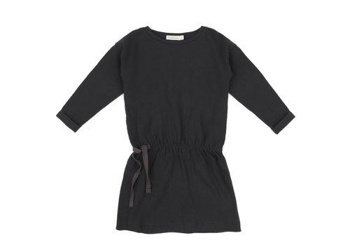 Phil & Phae Phil & Phae textured blouson dress charcoal