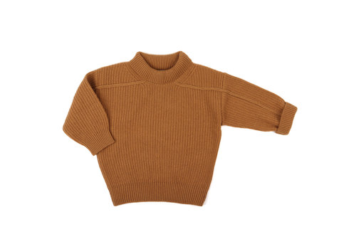Phil & Phae Phil & Phae woolblend oversized knit sweater gold ochre