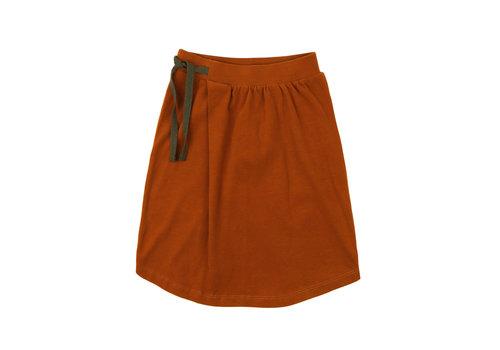 Phil & Phae Phil & Phae midi skirt burnt orange