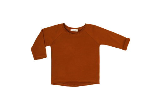Phil & Phae Phil & Phae raglan longsleeve burnt orange