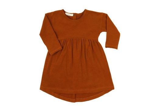 Phil & Phae Phil & Phae drop-shoulder dress burnt orange