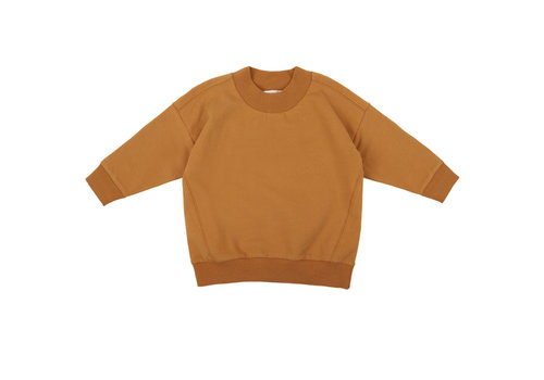 Phil & Phae Phil & Phae oversized rib-neck sweater gold ochre