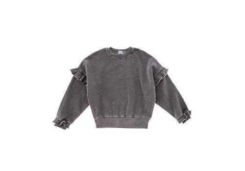 Tocoto vintage Tocoto vintage sweater roezel grijs