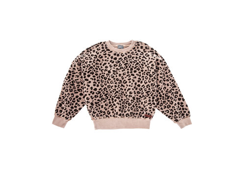 Tocoto vintage Tocoto vintage sweater leopard bruin