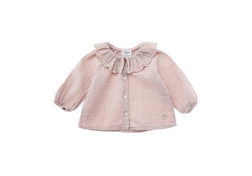 Tocoto vintage Tocoto vintage blouse roze roezel