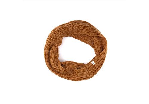 Phil & Phae Phil & Phae woolblend infinity scarf gold ochre