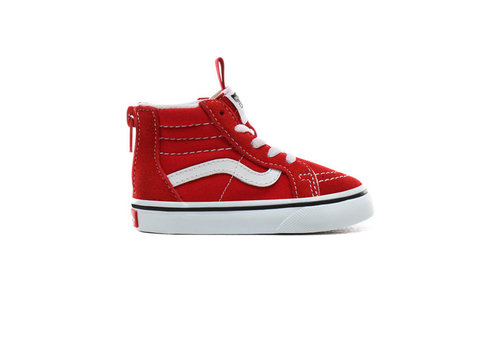 Vans Vans sk8-hi zipper racing red