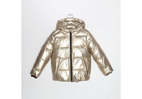 Gosoaky Gosoaky pufferjacket short gold