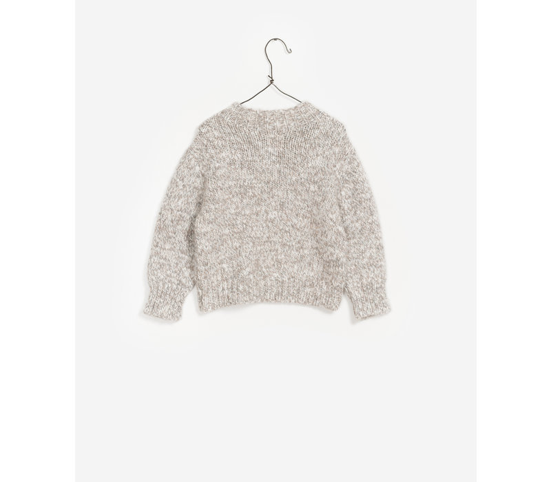 Play up knit sweater magical