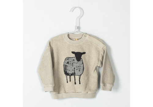 Lötie kids Lötie kids sweater polar sheep beige