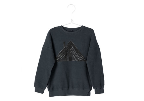 Lötie kids Lötie kids polar sweater cottage vintage black