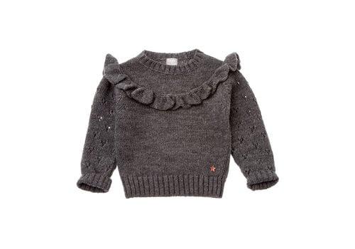 Tocoto vintage Tocoto vintage knit sweater dark grey