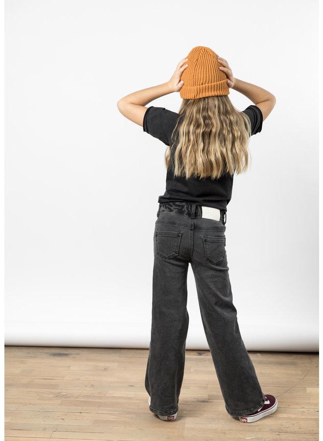 I dig denim jeans harper wide black