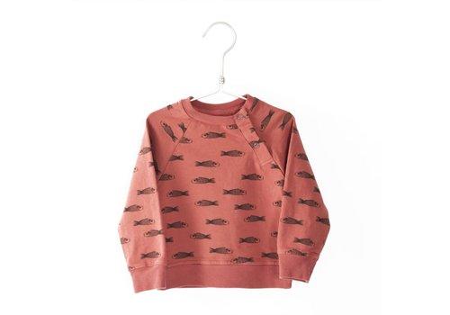 Lötie kids Lötie kids baby sweater visjes