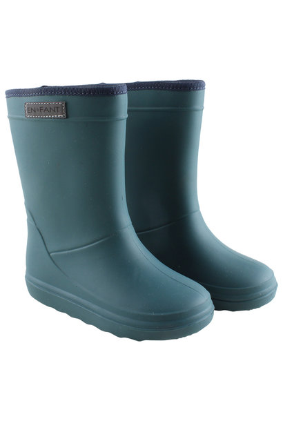 Enfant thermoboots dark green