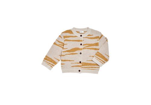 Maed for mini Maed for mini knit vest tipsy tiger
