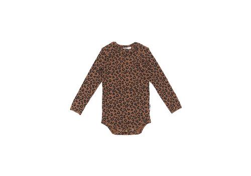 Maed for mini Maed for mini romper chocolate leopard