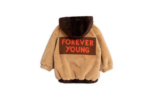 Mini Rodini Mini Rodini faux fur hoodie