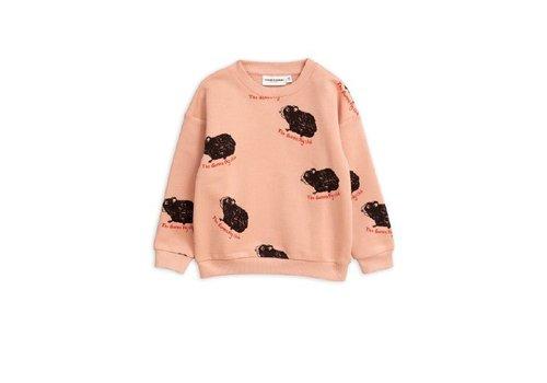 Mini Rodini Mini Rodini sweater guinea pig pink