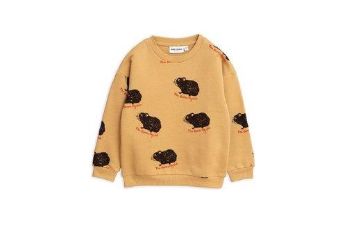 Mini Rodini Mini Rodini sweater guinea pig beige