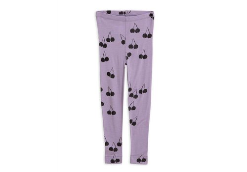 Mini Rodini Mini Rodini legging cherry wol purple