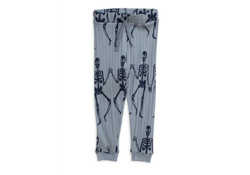Mini Rodini Mini Rodini jogger skeleton blue