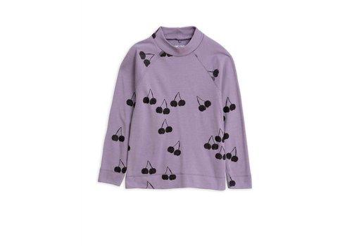 Mini Rodini Mini Rodini longsleeve cherry wol purple