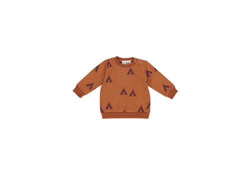 GRO Company GRO company baby sweater tipi cognac