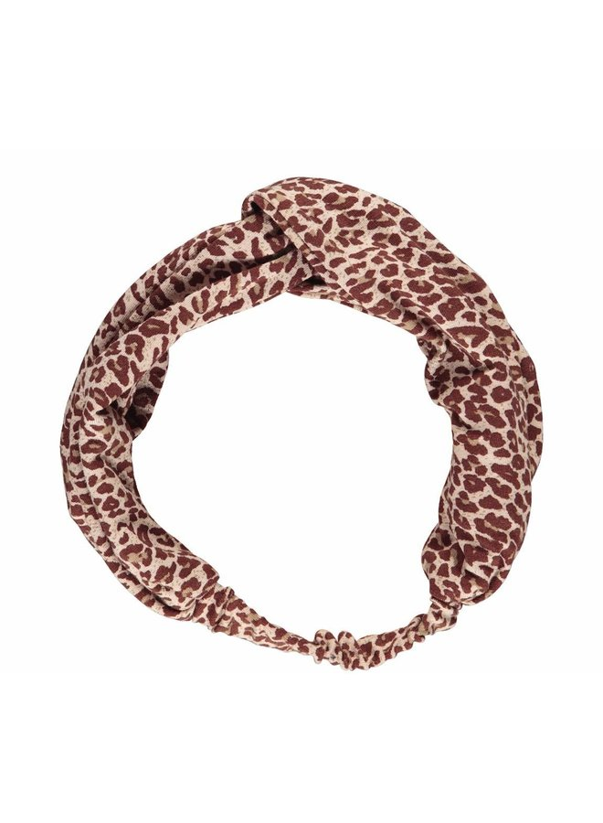 MarMar haarband leopard wine