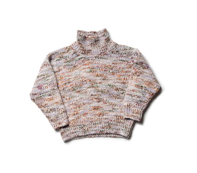 Wynken knit sweater lilac mist