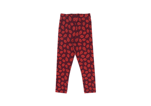 One day parade One day parade legging red leaves