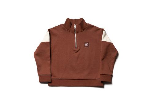 Wynken Wynken zip track sweater acer