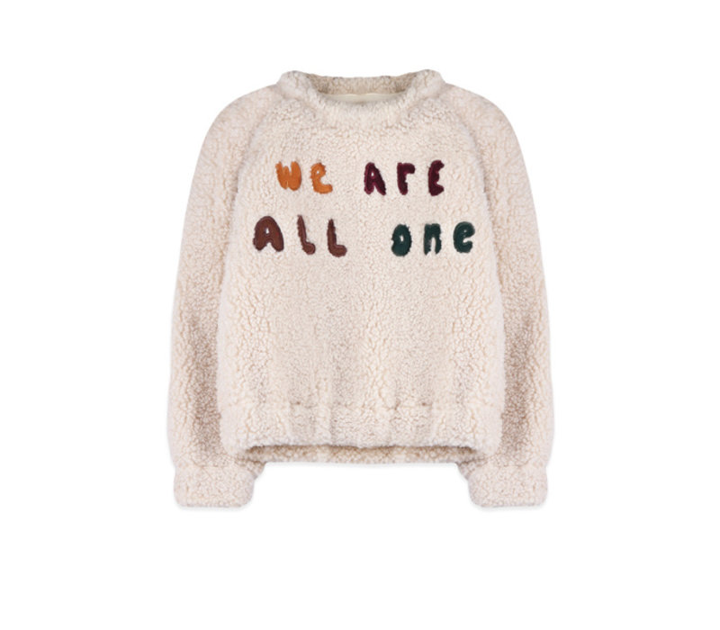 Ammehoela sweater we are all one